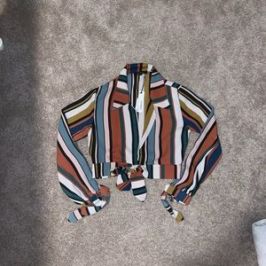 NWT colorful blouse